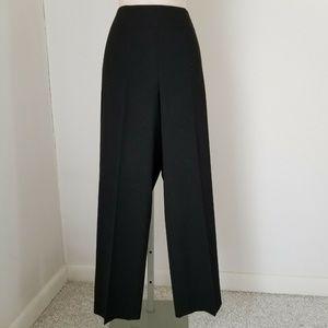 Talbots Petites Black Stretch Dress Pants Sz 10